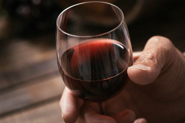 Wine tasting at the tavern